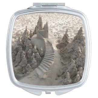 Magical Sand Castle Travel Mirror