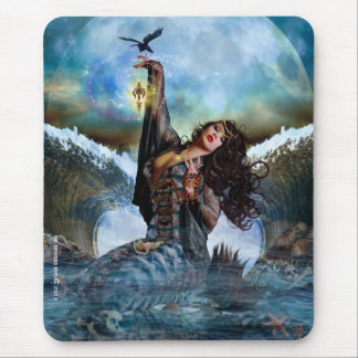 Magical Sea Witch Mermaid Mousepad