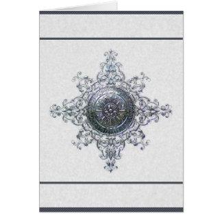 Magical Snowflake Holiday Card