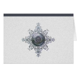 Magical Snowflake Thank You Card