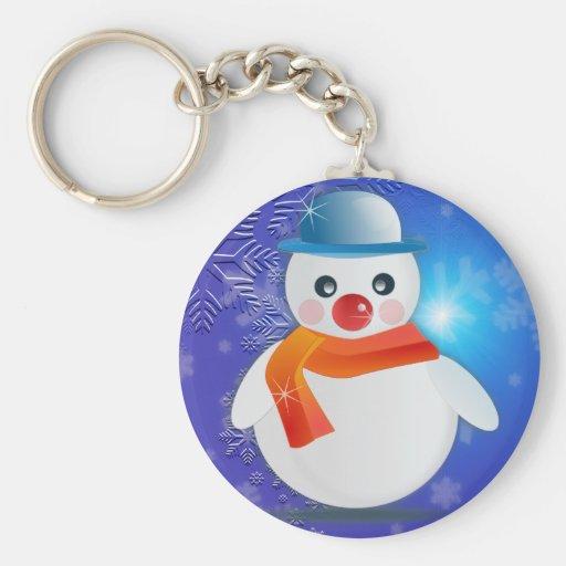 Magical Snowman Key Chain