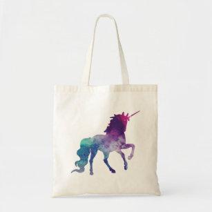 7d184b002fa Magical Sparkly Prancing unicorn Tote Bag