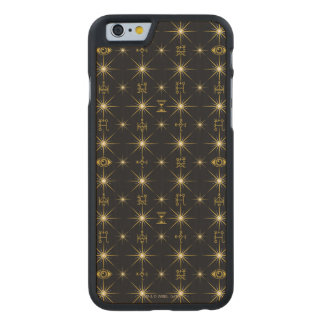 Magical Symbols Pattern Carved Maple iPhone 6 Case