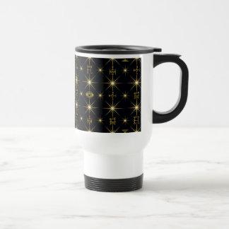 Magical Symbols Pattern Travel Mug