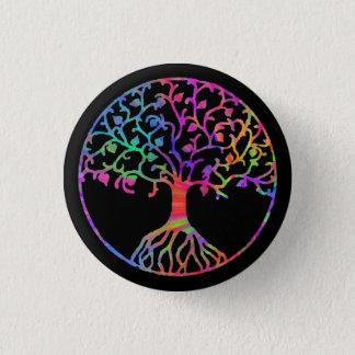 Magical Tree of Life 3 Cm Round Badge