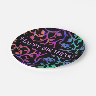 Magical Tree of Life Paper Plate