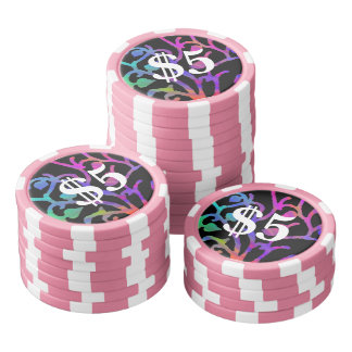 Magical Tree of Life Poker Chips