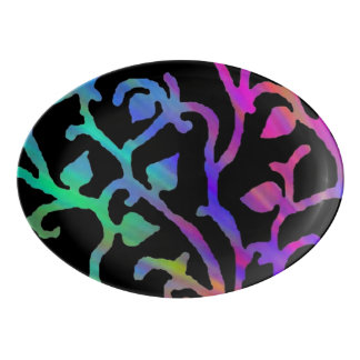 Magical Tree of Life Porcelain Serving Platter