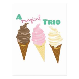 Magical Trio Postcard