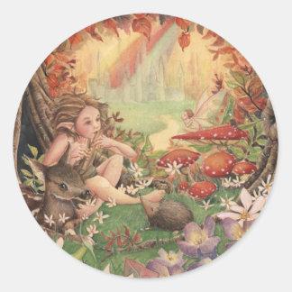 Magical Tunes Round Sticker