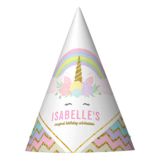 Magical Unicorn Birthday Party Hat