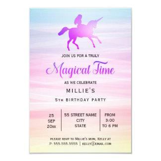 Magical Unicorn | Birthday Party Invitation