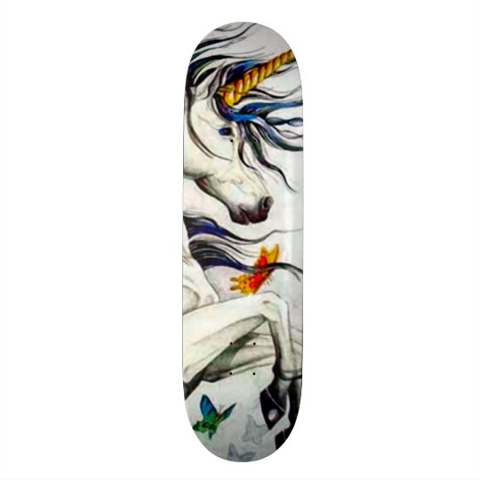 Magical Unicorn Custom Pro Park Board Skateboards