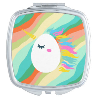 Magical Unicorn Eggs Vanity Mirror