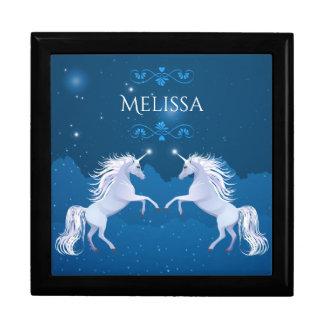 Magical Unicorn Keepsake Box