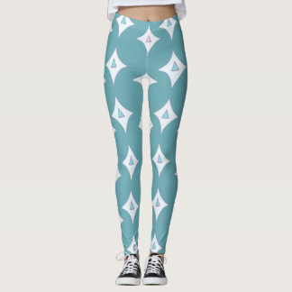 Magical Unicorn Leggings Turquoise