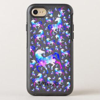 Magical Unicorn Universe Space Pattern OtterBox Symmetry iPhone 7 Case
