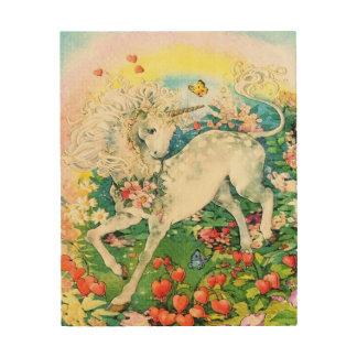 Magical Unicorn Wood Wall Art
