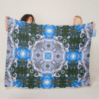 Magical Unicorns Mandala Fleece Blanket