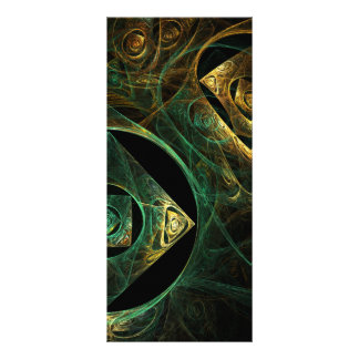 Magical Vibrations Abstract Art Rack Card