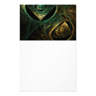 Magical Vibrations Abstract Art Stationery