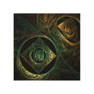Magical Vibrations Abstract Art Wood Prints