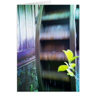 Magical Watermill Greeting Card