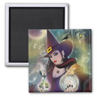 Magical Witch Magnet