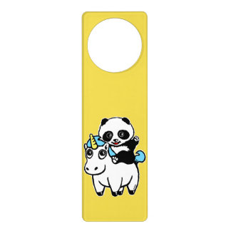 Magically cute door hanger