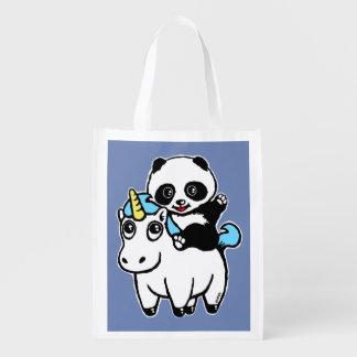 Magically cute reusable grocery bag