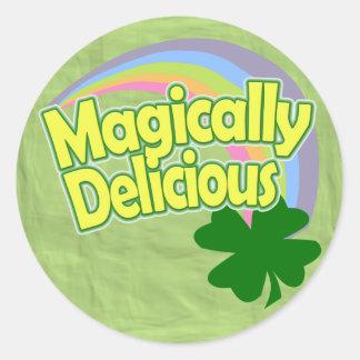 Magically Delicious Classic Round Sticker