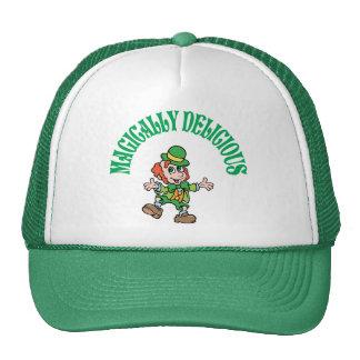 Magically Delicious Dancing Leprechaun Mesh Hats