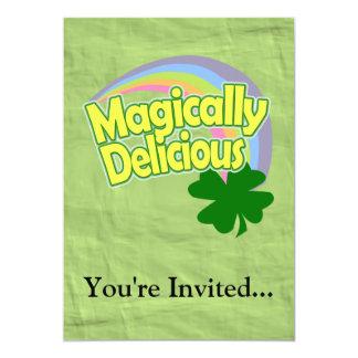 """Magically Delicious 5"""" X 7"""" Invitation Card"""