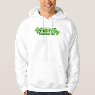 Magically Delicious Irish Shamrock Hooded Sweatshirts