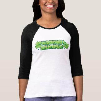 Magically Delicious Irish Shamrock T Shirt