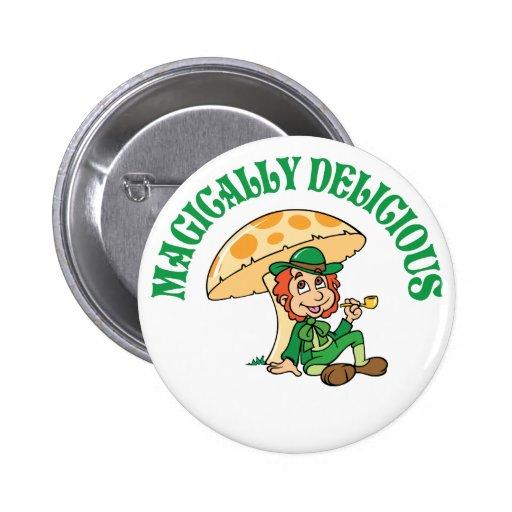 Magically Delicious Leprechaun Buttons