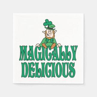 Magically Delicious Little Leprechaun Paper Serviettes