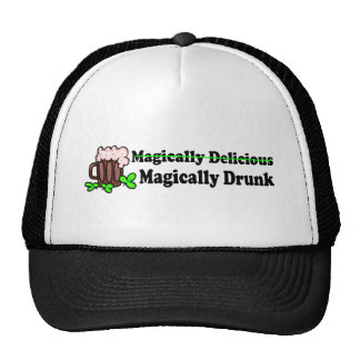 Magically Delicious Magically Drunk Trucker Hats