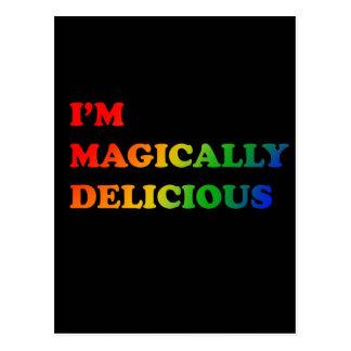 Magically delicious postcard