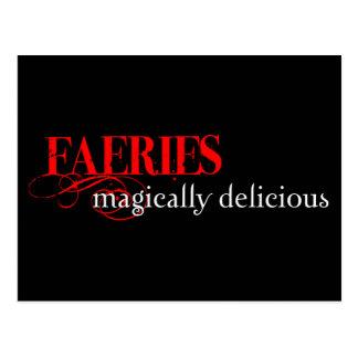 Magically Delicious! Postcard