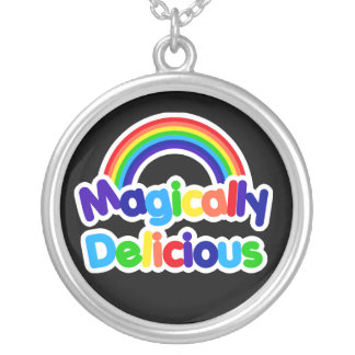 Magically Delicious Silver Plated Necklace