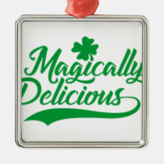 Magically Delicious St. Patrick's Day Metal Ornament