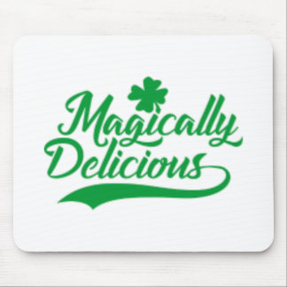 Magically Delicious St. Patrick's Day Mouse Pad