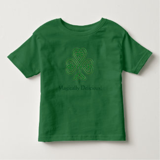 Magically Delicious! St. Patrick's Day Shamrock T Toddler T-Shirt