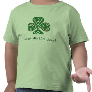 Magically Delicious! St. Patrick's Day Shamrock T T-shirt