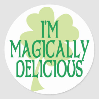 Magically Delicious Round Sticker