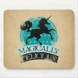 Magically Delicious (Unicorn Meat) Vintage Mouse Pad