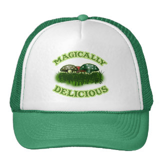 Magically Delicious with Mushrooms Trucker Hat
