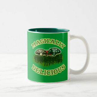Magically Delicious with Mushrooms Coffee Mugs