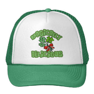 Magically Delicious with Shamrocks Trucker Hats
